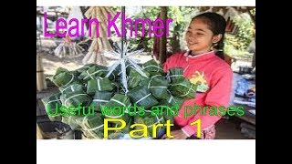 Download Learn Khmer: useful Khmer words and phrases for travelers part 1   Let's Learn Khmer (part 1) Video