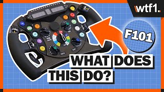 Download F1 Steering Wheel Explained - What Do All Those Buttons Actually Do? Video