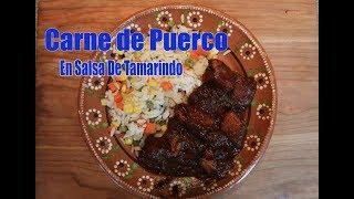 Download Carne de Puerco En Salsa de Tamarindo Y Chile Guajillo Video
