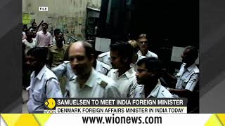 Download Denmark's Foreign Affairs Minister on visit to India Video