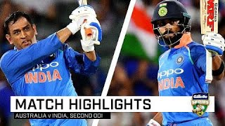 Download Kohli, Dhoni too good for the Aussies | Second Gillette ODI Video