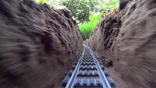 Download Super Long LEGO Train Track Setup Outdoor! Video
