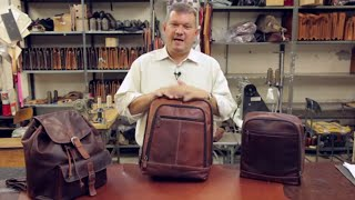 Download How To Choose the Right Leather Backpack for Your Needs | Jack Georges Video
