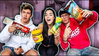 Download TRYING AUSTRALIAN FOODS (Feat. Indiana Massara & Zach Justice) Video