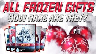 Download MUT 17: HOW RARE IS YOUR GIFT? EVERY MADDEN 17 ULTIMATE TEAM ULTIMATE FREEZE CHRISTMAS GIFT!! Video