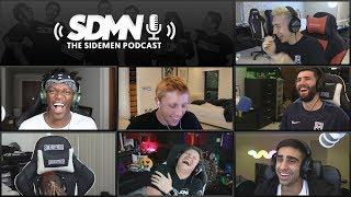Download KSI VS LOGAN PAUL PRESS CONFERENCE & THE SIDEMEN SHOW (Sidemen Podcast) Video