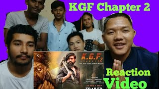 Download KGF2 || OFFICIAL TRAILER || REACTION VIDEO || REACTS BY ARUNACHAL BOYs Video