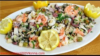 Download Seven Fishes Seafood Salad - Rossella's Cooking with Nonna Video