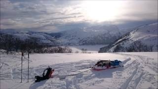 Download Perfect winter weekend in Sirdal, Norway Video