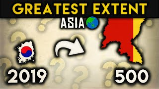 Download Countries of Asia at their Greatest Extent Video