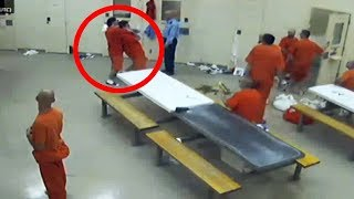Download Chilling Prison Moments Caught On Camera Video