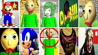 Download 10 Baldi's Basics in Education and Learning Mods Video