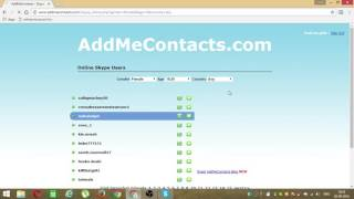 Download How to add Skype friends online Video