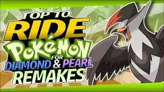 Download Top 10 Ride Pokémon for Diamond and Pearl Remakes Video