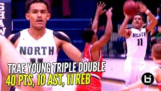 Download ″That Boy Good!″ Trae Young NASTY Triple Double in 3 Quarters!! Video