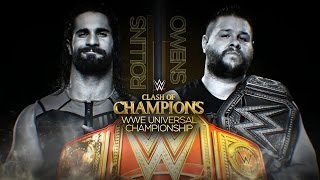 Download WWE Clash of Champions 2016: Kevin Owens vs. Seth Rollins Video