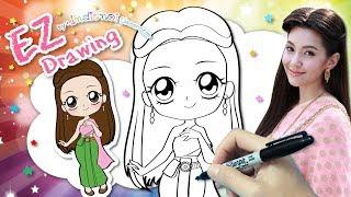 Download วาดรูประบายสี แม่การะเกด ★ละคร บุพเพสันนิวาส ★คาวาอี้ น่ารักๆ★Chibi&Kawaii Style★BuppeSanNivas♥ Video