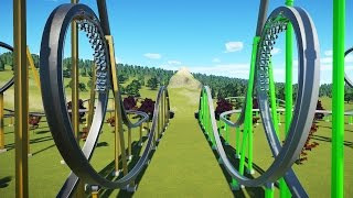 Download Planet Coaster Gameplay - Hanzo/Genji Racing Coasters! - Let's Play Planet Coaster Part 10 Video