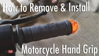 Download How to Remove & Install Motorcycle (RacingBoy) Hand Grip [Tagalog] Video