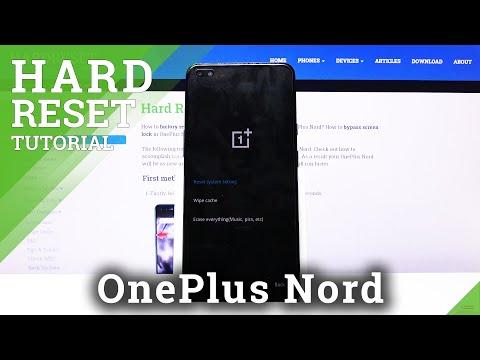Hard Reset OnePlus Nord – Bypass Screen Lock / Wipe Data
