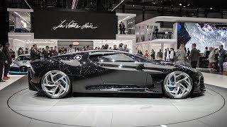 Download Bugatti drops most expensive car EVER! La Voiture Noire - The Car Black Video