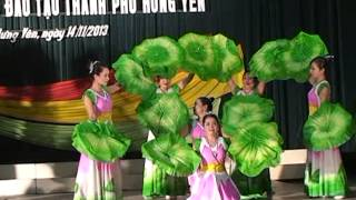 Download Múa ″Người về thăm quê″ -Tiết mục hội diễn 20-11-2013 của GV trường THCS Quảng Châu Hưng yên Video