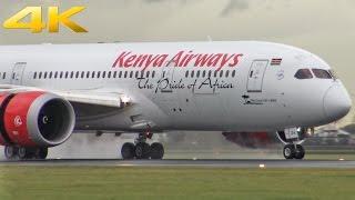 Download Windy Plane Spotting at Schiphol Airport l EHAM/AMS l 4K 2016 Video