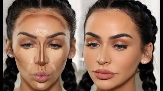 Download HOW I CONTOUR & HIGHLIGHT! | Carli Bybel Video