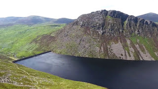 Download Drone Video of the Mourne Mountains in Northern Ireland Video