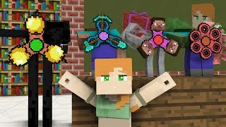 Download Monster School: Gifts for Alex - Minecraft animation Video