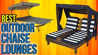 Download 8 Best Outdoor Chaise Lounges 2017 Video