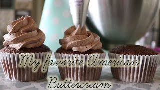 Download My Favorite American Buttercream Recipe! (Vanilla and chocolate) Video