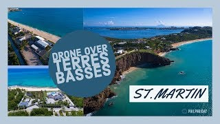 Download Drone Video over Terres Basses, St. Martin Video