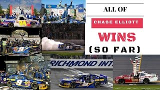 Download All of Chase Elliott's Nascar Wins (So Far) Video