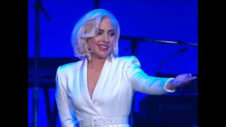 Download Lady Gaga Performing At Hurricane Relief Concert Video