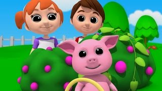 Download Luke & Lily - Mulberry Bush | Nursery Rhymes | Songs For Children | Video For Kids Video