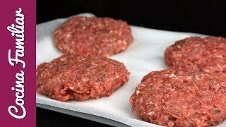 Download Como hacer hamburguesas caseras paso a paso   Recetas caseras de Javier Romero Video