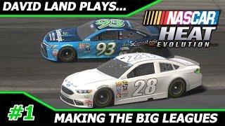 Download David Land Plays: NASCAR Heat Evolution Career Mode #1, MAKING THE BIG LEAGUES Video