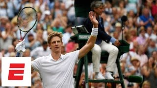 Download The last (50th!) game of Anderson vs. Isner's epic semifinal marathon match at Wimbledon 2018 | ESPN Video