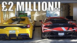 Download WHY MY FRIEND BOUGHT £2 MILLION OF SUPERCARS!! Video