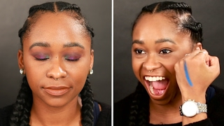Download People Try Bold Eyeshadow Looks Video