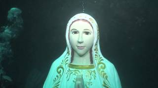 Download Its a Miracle Virgin Mary Statue Comes Alive Mother Mary Under Water Video