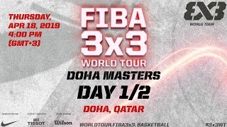 Download LIVE 🔴 - FIBA 3x3 World Tour 2019 - Doha Masters - Day 1 - Doha, Qatar Video