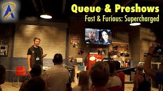 Download Fast & Furious: Supercharged Queue & Preshows at Universal Orlando Video