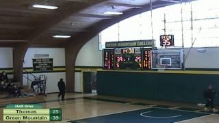 Download Green Mountain vs. Thomas Men's Basketball Video