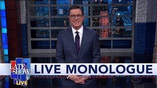 Download Sanders, Warren Clash Over ″Woman President″ Question At Iowa Debate: Colbert's LIVE Monologue Video