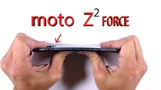 Download Moto Z2 FORCE Durability Test - Scratch and Bend Test! Video