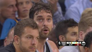 Download NBA Games of the Year - San Antonio Spurs at Golden State Warriors from 10/25/2016 Video