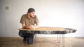 Download Modern Live Edge Coffee Table | Modern Builds | EP. 25 Video