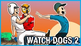 Download Watch Dogs 2 Multiplayer Funny Moments w/ Vanoss! Ice Cream Truck Police Chase, PRANKED, Alcatraz! Video